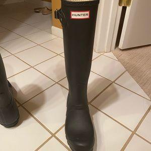 Hunter Shoes - Hunter Rainboots Size 8